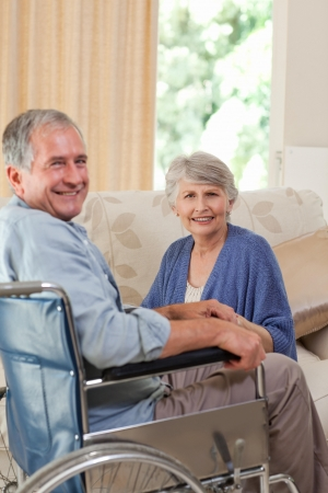 Mature couple looking at the camera Stock Photo - 10197826