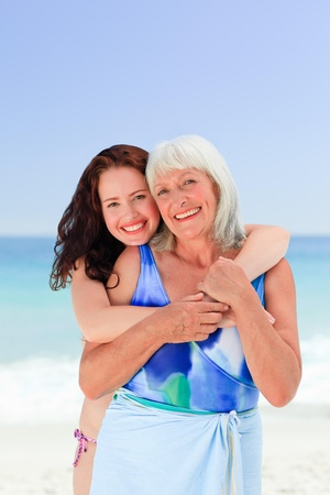 Senior woman with her daughter Stock Photo - 10216693