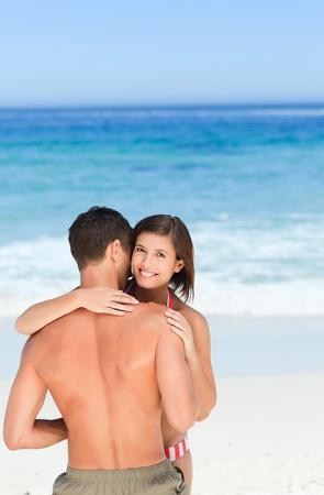 Lovers at the beach Stock Photo - 10213161