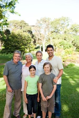 Portrait of a happy family Stock Photo - 10219747
