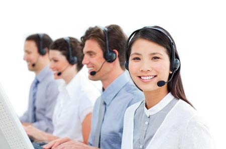 Besetzt Kundendienstmitarbeiter