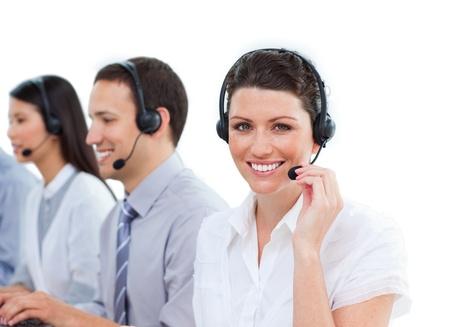 Diverse customer service representatives team  Stock Photo - 10075850