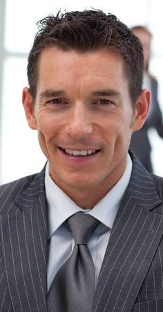 Close-up eines attraktiven Geschäftsmann Lizenzfreie Bilder - 10089912