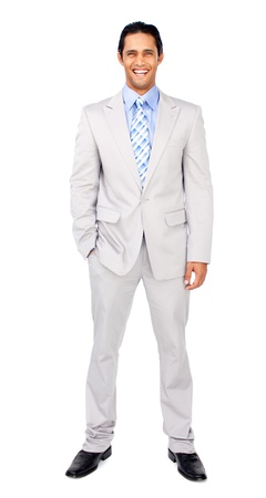 Portrait of a confident businessman Stock Photo - 10106385