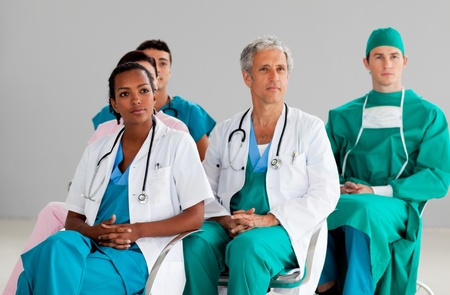 team of doctors at a conference Stock Photo - 10072203