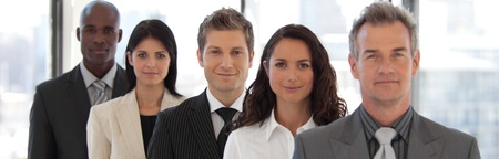 Male CEO Leading a team Stock Photo - 10108976