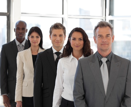 Male CEO Leading a team Stock Photo - 10111696