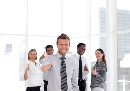 businessteam: Sucessful businessteam Stock Photo