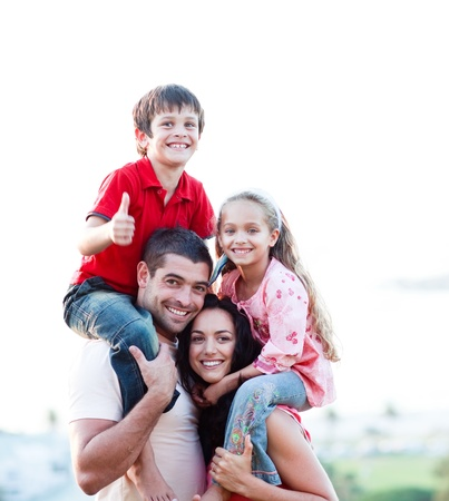 háton: Szülők, amely a gyermekek háton túrák