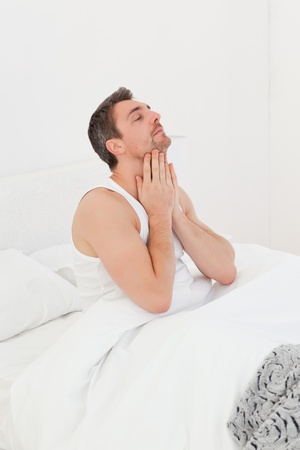 A man  waking up Stock Photo - 10212429