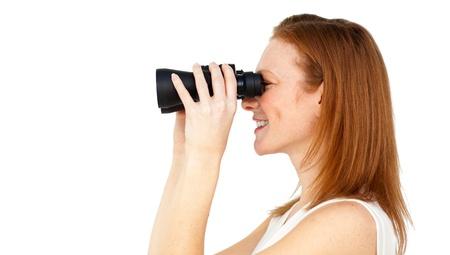 predicting: Charismatic businesswoman predicting future success