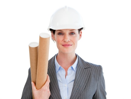 originator: Portrait of a positive female architect
