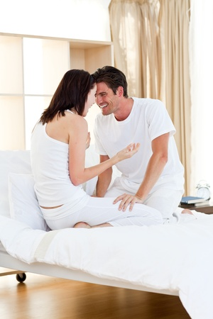Affectionate couple having fun photo