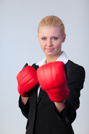 Attractive business woman  photo