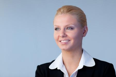 Confident businesswoman  photo