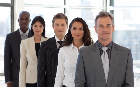 Male CEO Leading a team Stock Photo - 10249301
