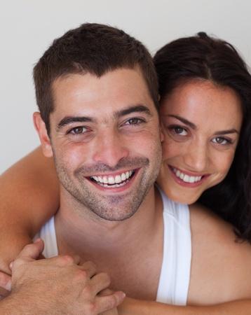 Portrait of an affectionate couple photo