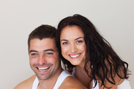 Young loving couple relaxing  Stock Photo - 10248737