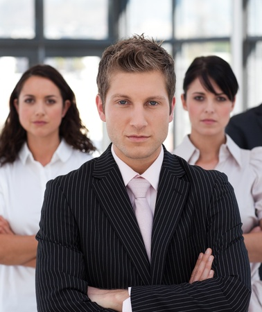buisinessman: Portrait of a professional business team looking at the camera