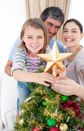 Family Christmas portrait Stock Photo - 10250201