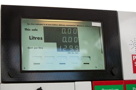 Close-up of a fuel pump photo