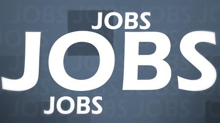 Creatief imago van grijze banen begrip Stockfoto