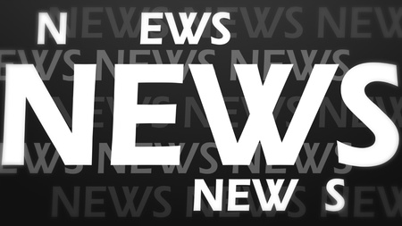 Creative image of news concept photo