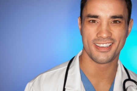 Close up of a doctor posing photo
