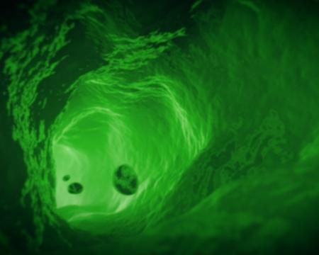 piastrine: Interno della vena in verde