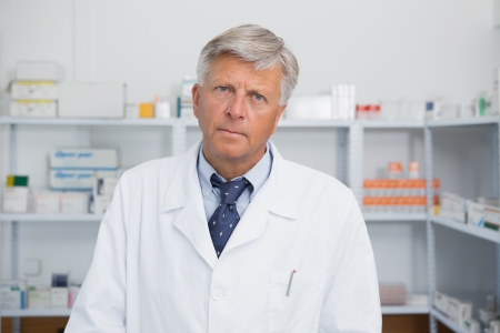 Doctor in a hospital pharmacy photo