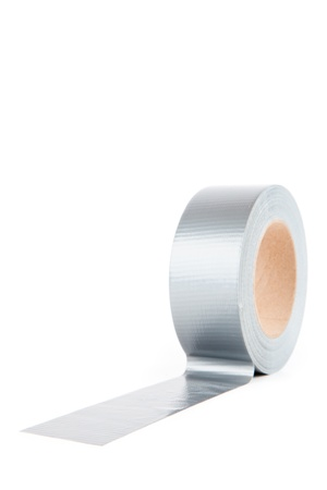 out of context: Silver duct tape