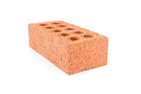 red clay: Red clay brick