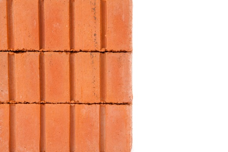 Stacked clay red bricks Stock Photo - 16068594