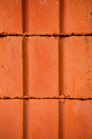 Red brick wall close up Stock Photo - 16068687