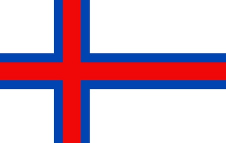 out of context: Faroe islands national flag
