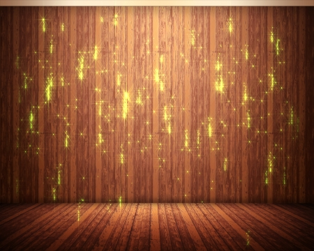 crackling: background of brown tapestry with illuminations Stock Photo