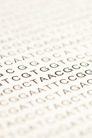enumeration: List of dna testing letters
