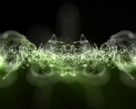 multiples: Background of multiples lightning green lines