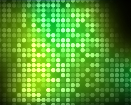 multiples: Background of multiples green dots