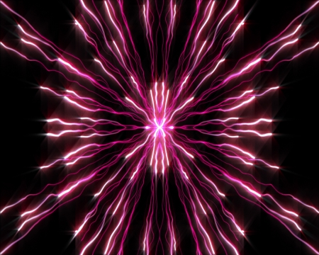 proportionate: Background of strands of purple lights