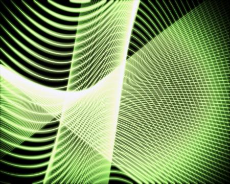 volute: Sfondo di voluta di linee verdi