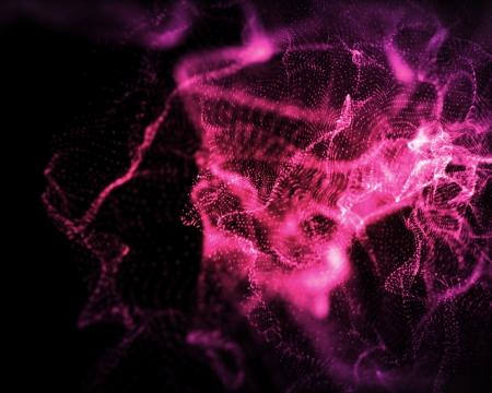 onbepaalde: Achtergrond van onbepaalde vormen van roze verlichting Stockfoto