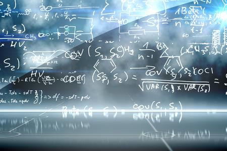 Math equation background photo