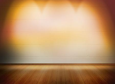 floorboards: Room with wooden floor