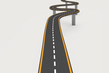 twisting: Twisting road