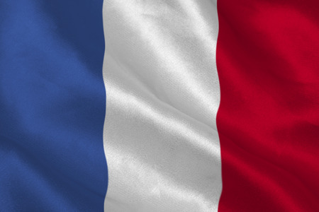 french flag: French flag rippling