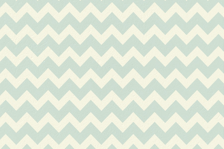 digitally generated blue and cream patterned wallpaper stock photo