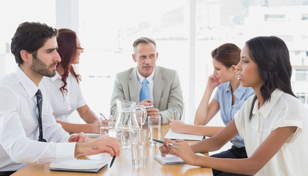 18 to 30s: Business team in a meeting at work