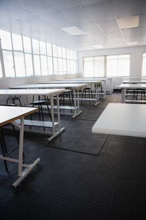 class room: Empty class room in college Editorial