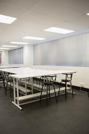 salle classe: Salle de classe vide au coll�ge